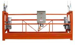 Vinduespolering ZLP630 Rope Suspended Platform Gondol Holder Med Hoist LTD6.3